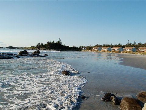 Enjoy the sight of rolling waves on Crescent Beach