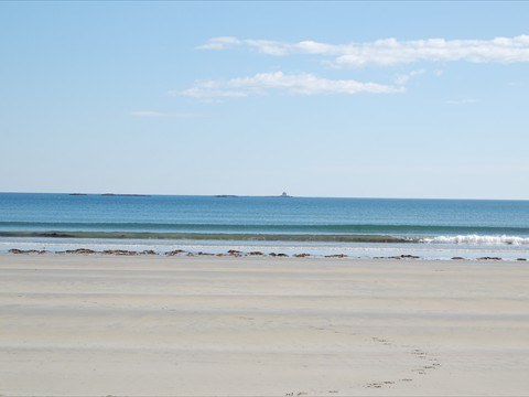 Enjoy the mile-long expanse of renowned Crescent Beach